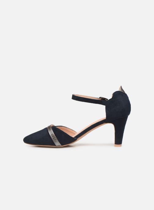 Zapatos de tacón Initiale Paris Tiaga Azul vista de frente