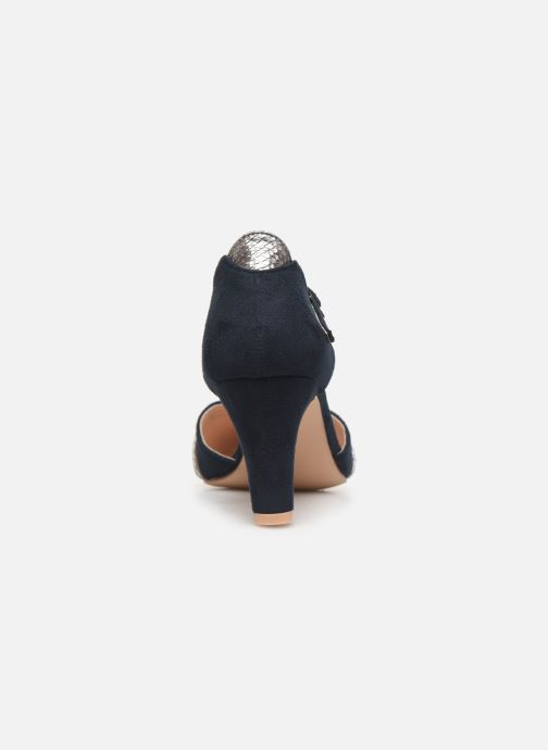High heels Initiale Paris Tiaga Blue view from the right