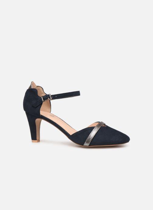 Zapatos de tacón Initiale Paris Tiaga Azul vistra trasera
