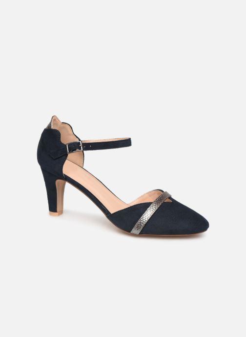High heels Initiale Paris Tiaga Blue detailed view/ Pair view