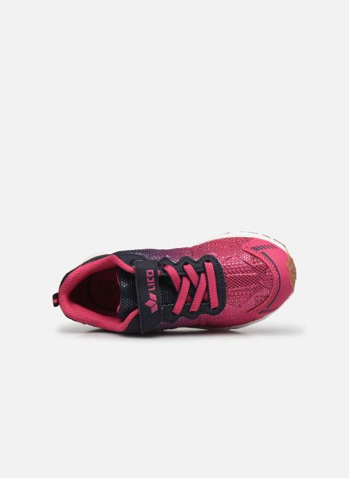 Sneakers Lico Flori VS Rosa immagine sinistra