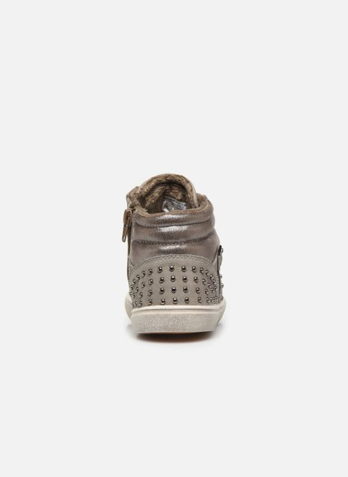 Baskets LICO Sinja Gris vue droite
