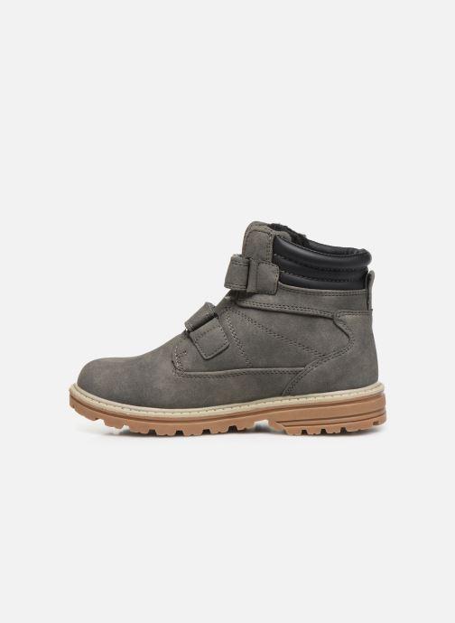 Stiefeletten & Boots LICO Corner V grau ansicht von vorne