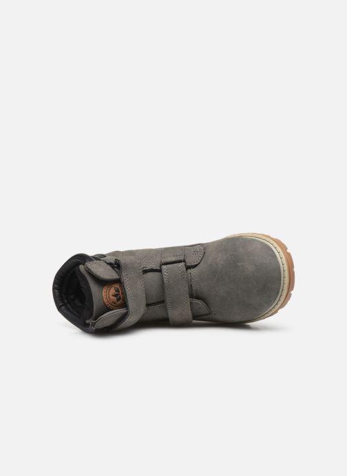 Stiefeletten & Boots LICO Corner V grau ansicht von links