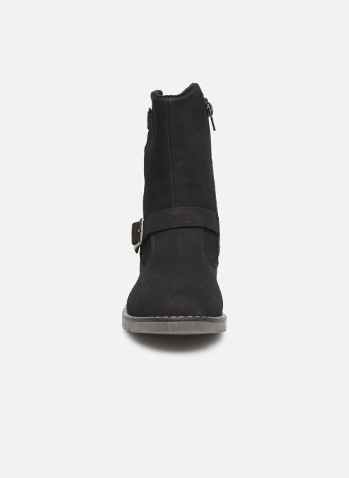 Bottes LICO Monroe Noir vue portées chaussures