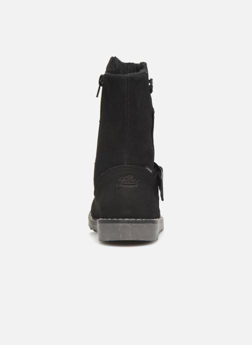 Stiefel LICO Monroe schwarz ansicht von rechts