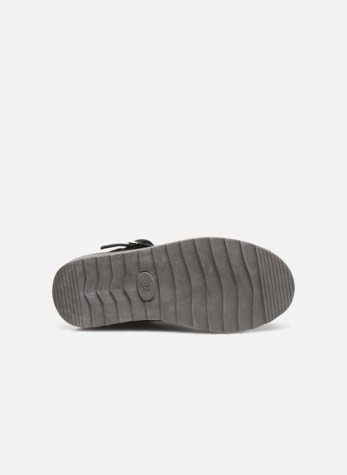 Stiefel LICO Monroe schwarz ansicht von oben
