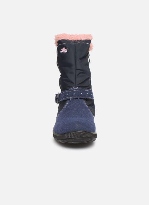 Chaussures de sport LICO Tonja Bleu vue portées chaussures