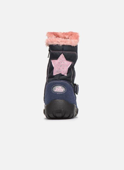 Chaussures de sport LICO Tonja Bleu vue droite