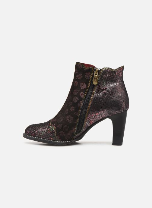 Ankle boots Laura Vita ALCBANEO 29 Burgundy front view
