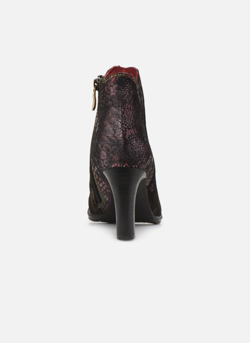 Ankle boots Laura Vita ALCBANEO 29 Burgundy view from the right