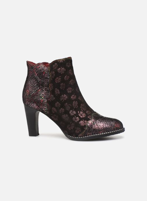Ankle boots Laura Vita ALCBANEO 29 Burgundy back view