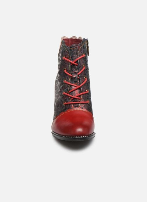 Ankle boots Laura Vita ALCBANEO 127 Red model view