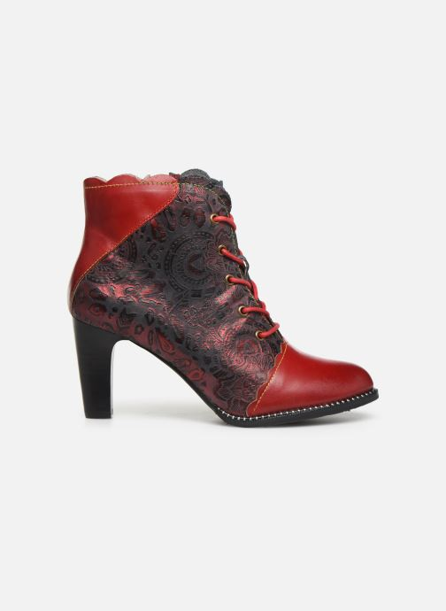 Ankle boots Laura Vita ALCBANEO 127 Red back view