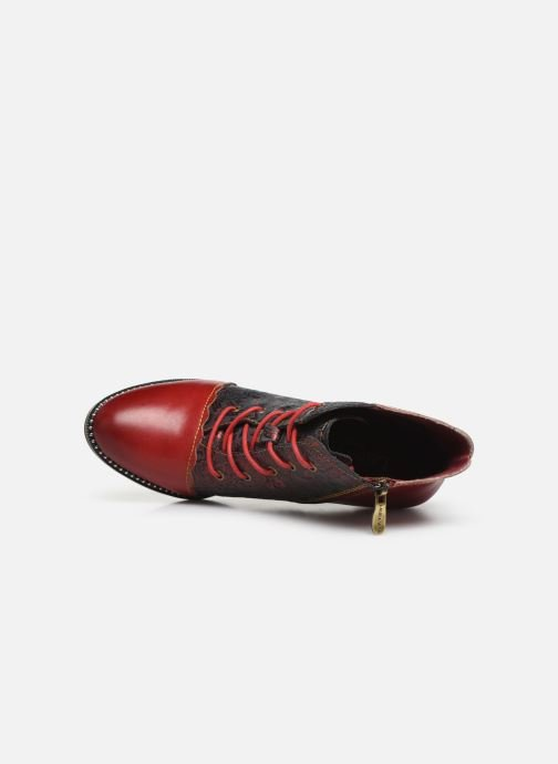 Ankle boots Laura Vita ALCBANEO 127 Red view from the left