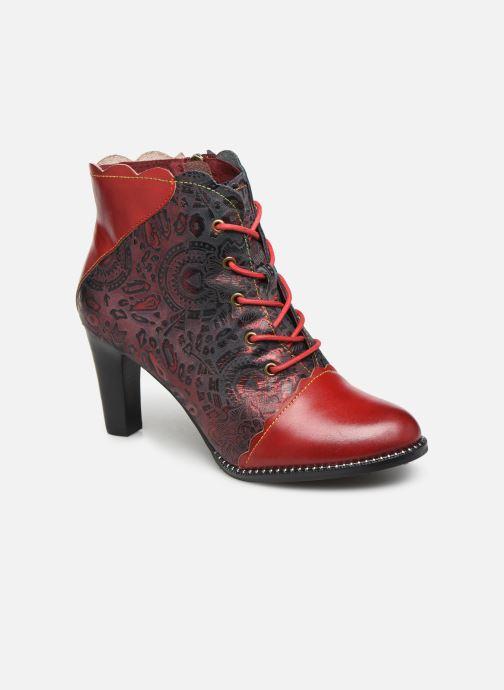 Ankelstøvler Laura Vita ALCBANEO 127 Rød detaljeret billede af skoene