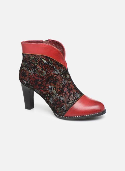 Ankelstøvler Laura Vita ALCBANEO 039 Rød detaljeret billede af skoene