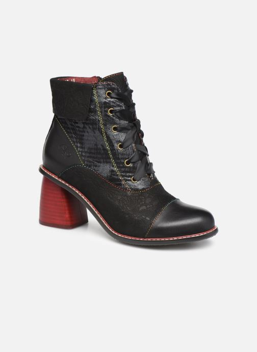 Ankle boots Laura Vita EVCAO 11 Black detailed view/ Pair view