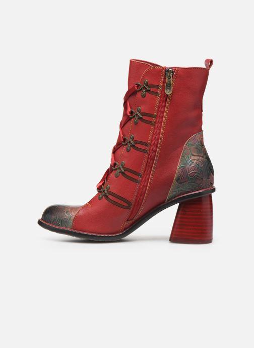 Bottines et boots Laura Vita EVCAO 01 Rouge vue face
