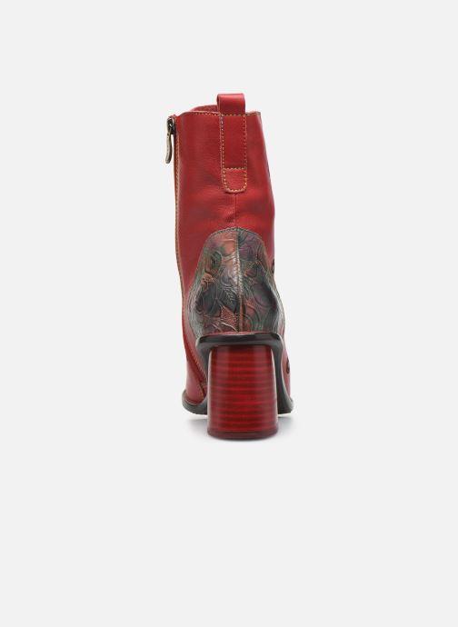 Bottines et boots Laura Vita EVCAO 01 Rouge vue droite