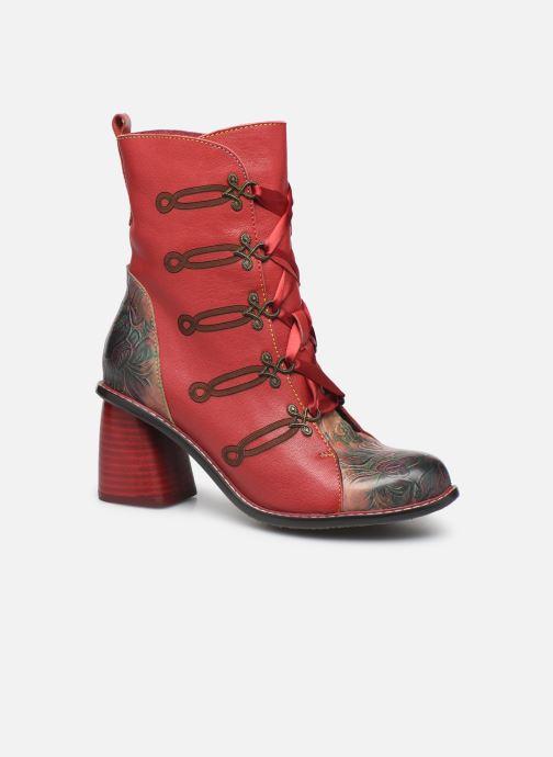 Bottines et boots Laura Vita EVCAO 01 Rouge vue détail/paire