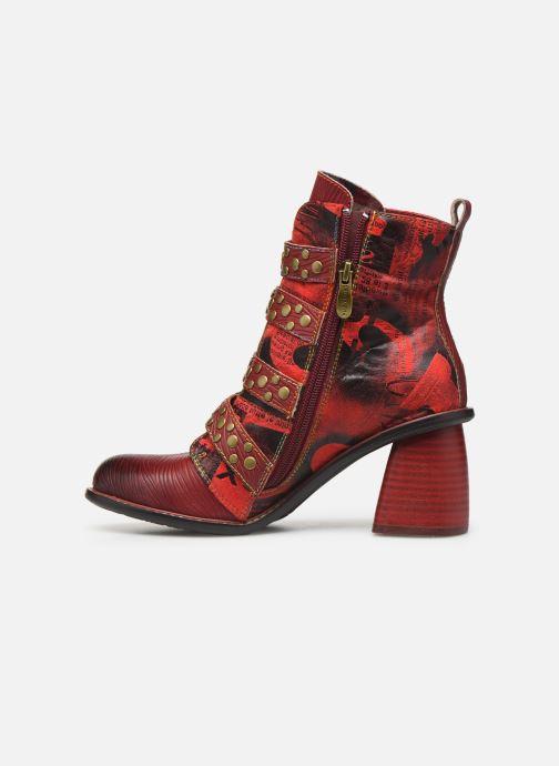Bottines et boots Laura Vita EVCAO 03 Rouge vue face