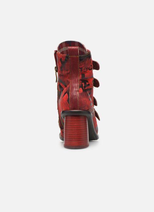 Bottines et boots Laura Vita EVCAO 03 Rouge vue droite