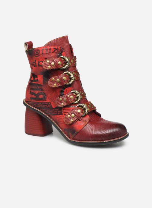 Bottines et boots Laura Vita EVCAO 03 Rouge vue détail/paire