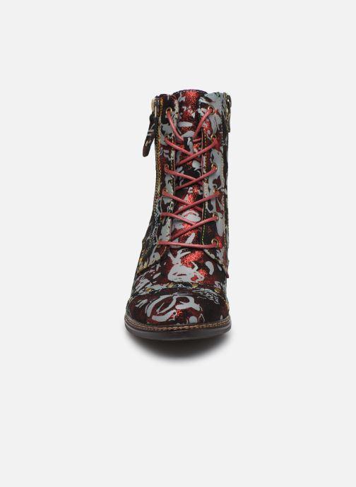 Bottines et boots Laura Vita ELCEAO 07 Rouge vue portées chaussures