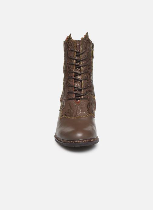 Boots en enkellaarsjes Laura Vita ELCEAO 22 Bruin model