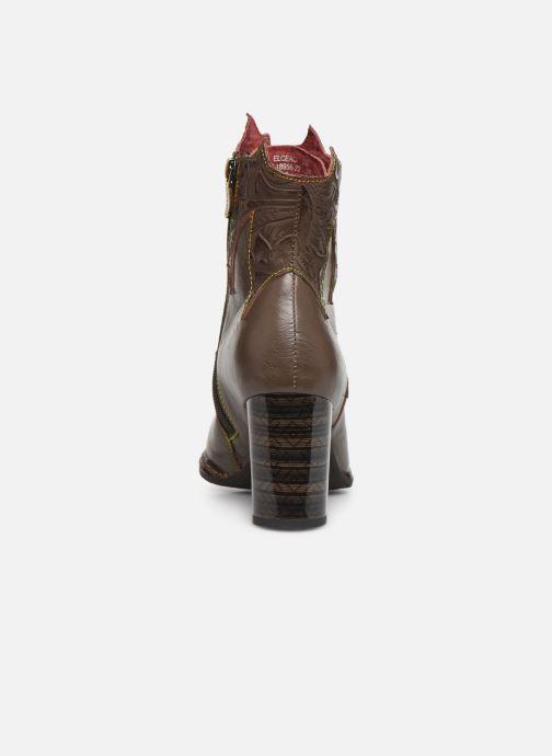 Boots en enkellaarsjes Laura Vita ELCEAO 22 Bruin rechts