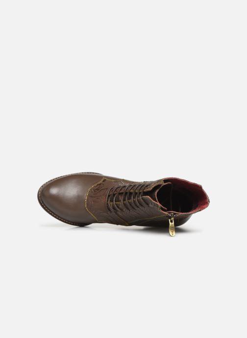 Boots en enkellaarsjes Laura Vita ELCEAO 22 Bruin links