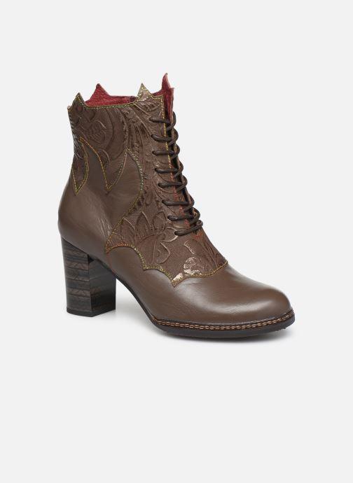 Boots en enkellaarsjes Laura Vita ELCEAO 22 Bruin detail