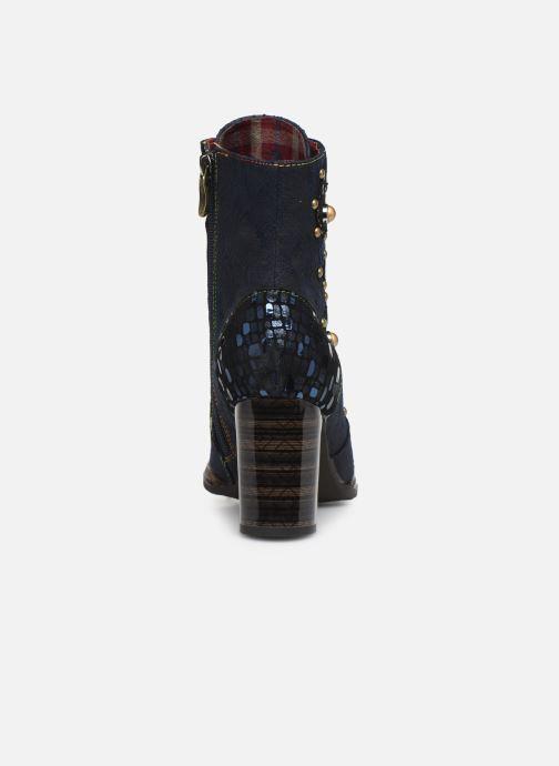 Bottines et boots Laura Vita ELCEAO 03 Bleu vue droite