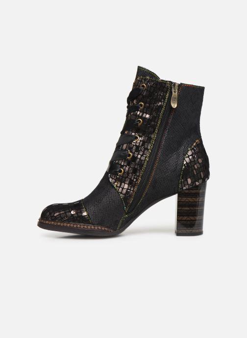 Bottines et boots Laura Vita ELCEAO 03 Noir vue face