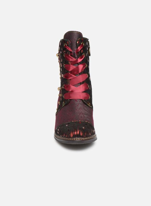Ankle boots Laura Vita ELCEAO 03 Burgundy model view