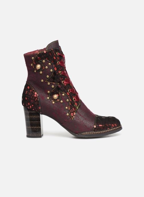 Ankle boots Laura Vita ELCEAO 03 Burgundy back view