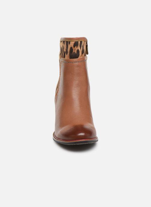 Bottines et boots Laura Vita GECEKO 01 Marron vue portées chaussures