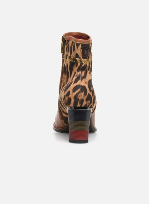Ankle boots Laura Vita GECEKO 01 Brown view from the right