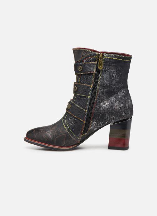 Ankle boots Laura Vita GECEKO 02 Grey front view