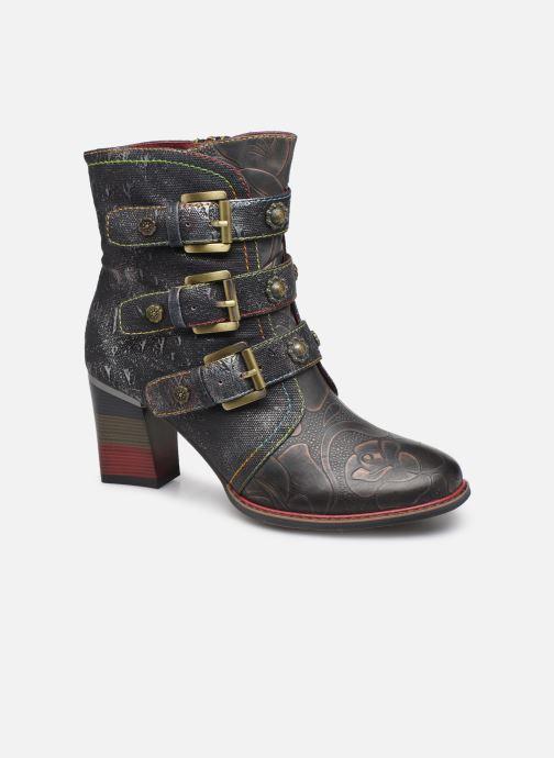 Ankle boots Laura Vita GECEKO 02 Grey detailed view/ Pair view