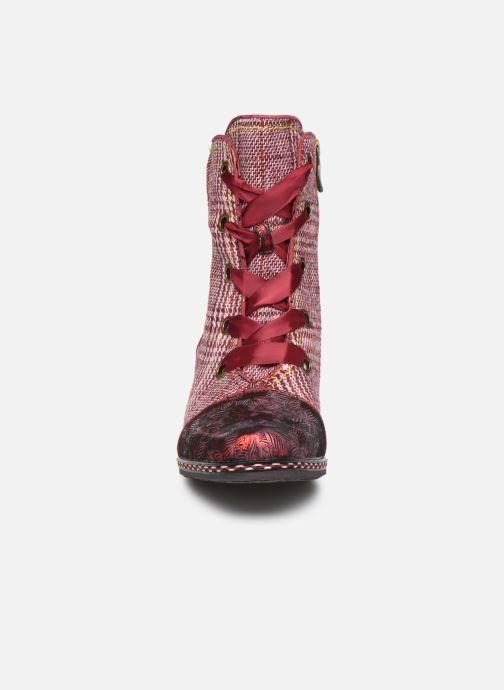 Bottines et boots Laura Vita GOCALO 02 Rouge vue portées chaussures