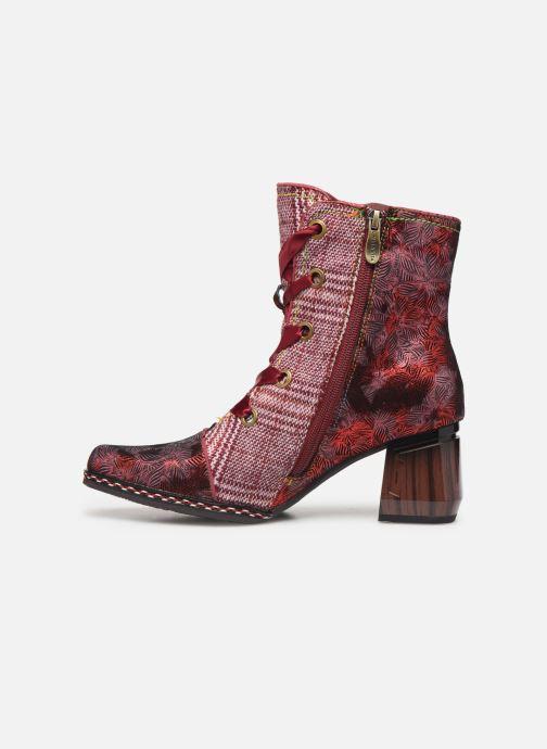 Bottines et boots Laura Vita GOCALO 02 Rouge vue face