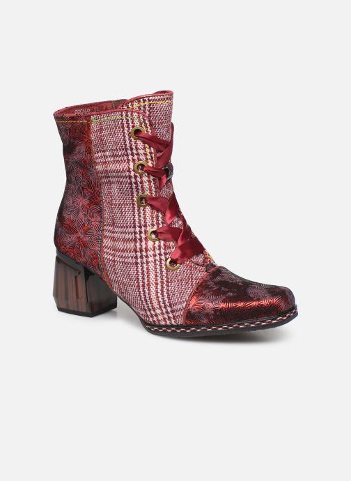 Bottines et boots Laura Vita GOCALO 02 Rouge vue détail/paire
