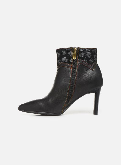 Ankle boots Laura Vita GECNIEO 03 Black front view