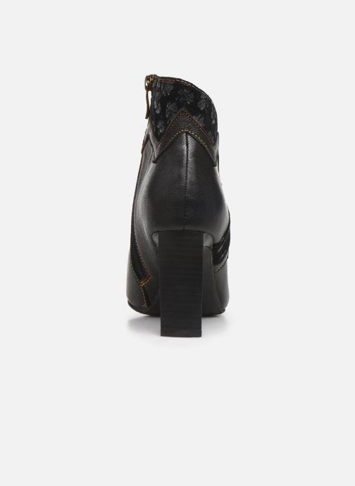 Ankle boots Laura Vita GECNIEO 03 Black view from the right