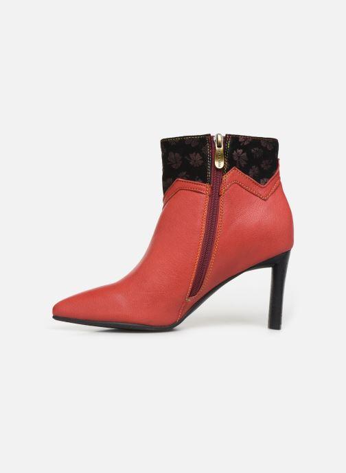 Bottines et boots Laura Vita GECNIEO 03 Rouge vue face