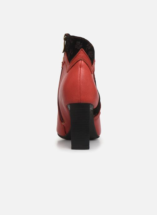 Bottines et boots Laura Vita GECNIEO 03 Rouge vue droite