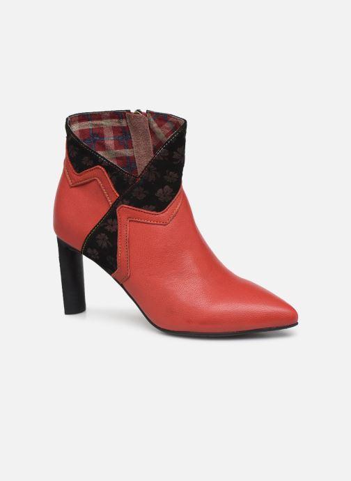 Bottines et boots Laura Vita GECNIEO 03 Rouge vue détail/paire