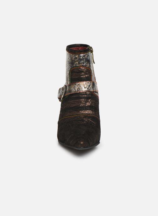 Bottines et boots Laura Vita GECNIEO 05 Or et bronze vue portées chaussures